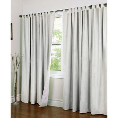 Thermalogic Weathermate 84 Double Width Tab Top Window Curtain
