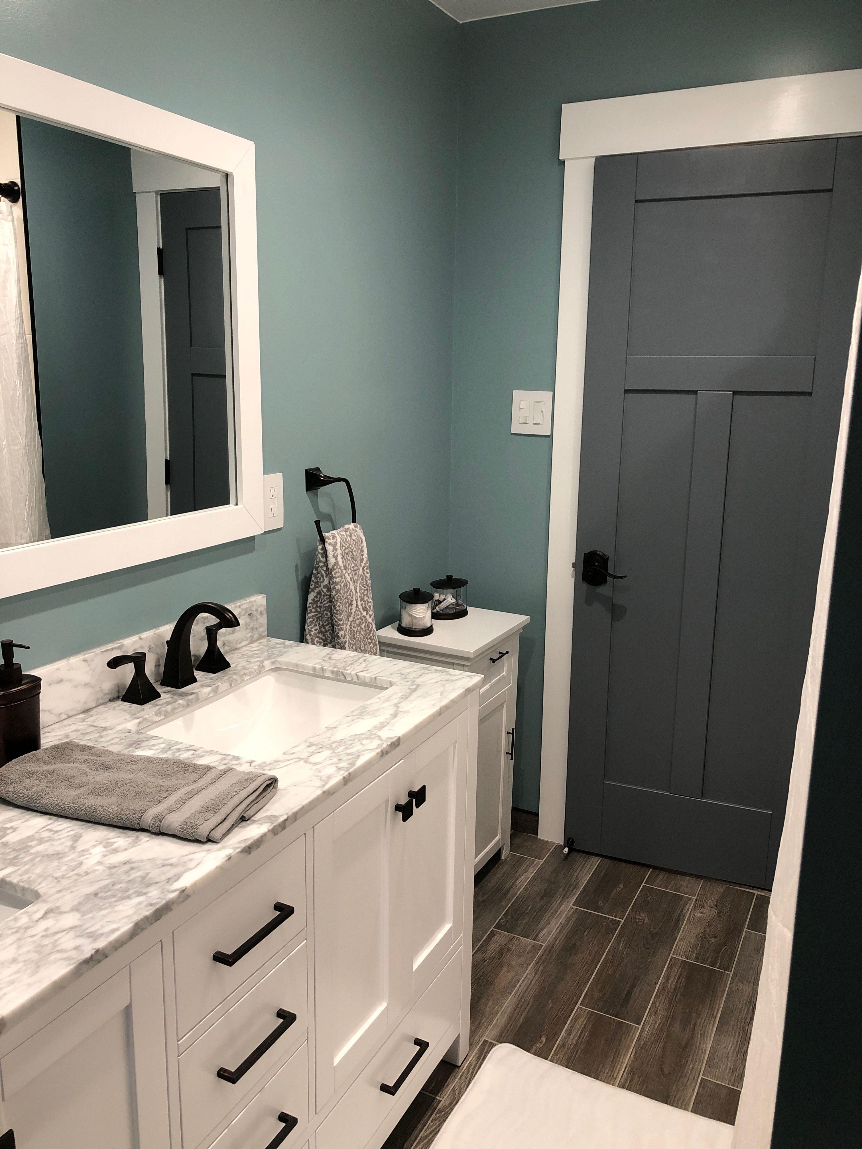 Best Aqua Paint Color For Bathroom