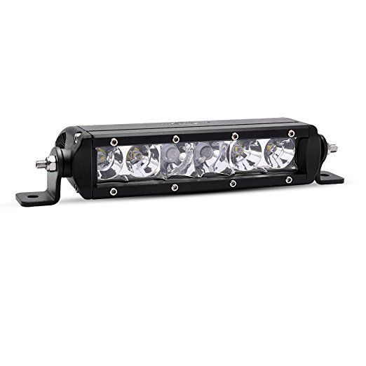 Mictuning Mic 5dp30 Sr Mini Series 8 30w Single Row Cree Led Light Bar Combo Spot Flood 2700lm 400m Visibility Led Cree Led Light Bar Led Light Bars Cree Led