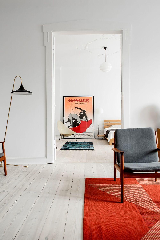 Wohnzimmer Einrichten Minimalistisch Bunt Skandinavisch Modern