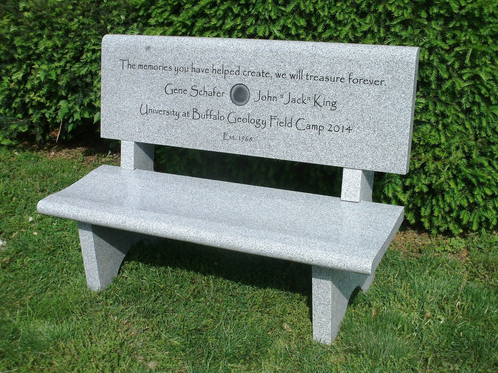 Granite Memorial Bench Memorial Benches Granite Memorial Grave Marker