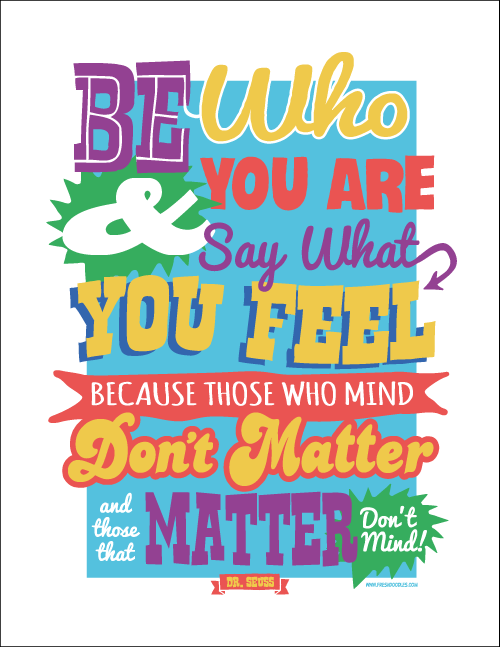 picture about Free Printable Dr Seuss Quotes called Refreshing Doodles - Mive 17\