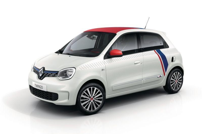 Renault Twingo Le Coq Sportif Sondermodell Im Franzosischen