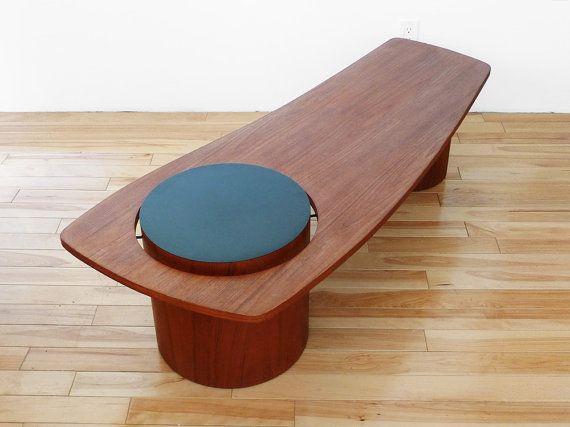r s associates vintage teak coffee table by popbam on etsy 320 00 rh pinterest com