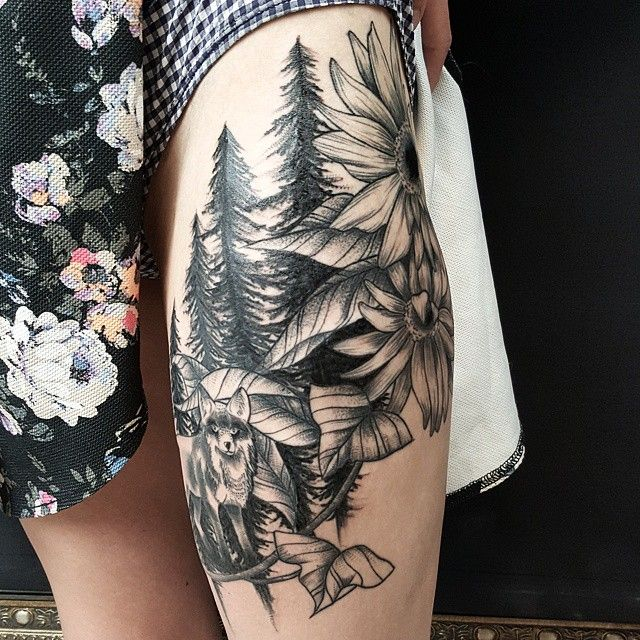 Cool nature tattoos for women | POP TATTOO | Nature ...