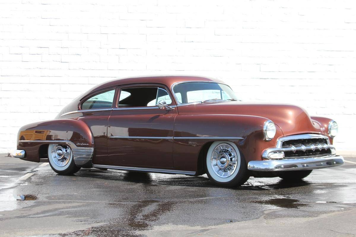 1952 Chevrolet Fleetline Deluxe With Images Vintage Cars