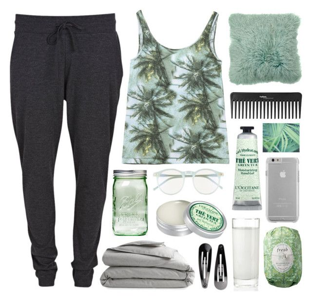 """""""Untitled #268"""" by luciamenesess ❤ liked on Polyvore featuring VILA, Ksubi, L'Occitane, Wildfox, Ball, Judy White Studio, Case-Mate, Fresh and Sephora Collection"""