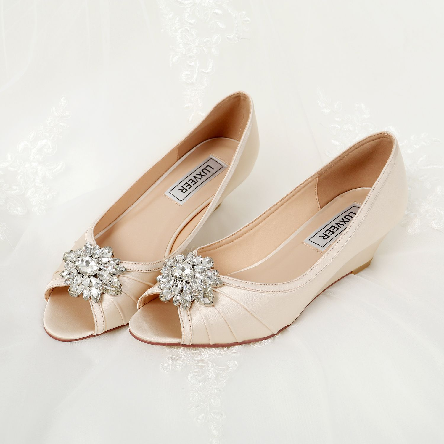 wedding wedges for comforter shoes silver bridal comfortable wedge ireland