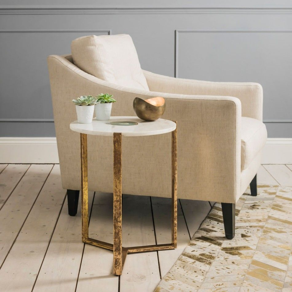 agate side table | living room | pinterest | metallic furniture