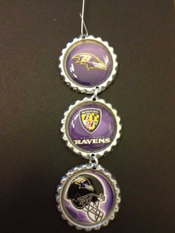 Baltimore Raven Ornemt on Etsy, $5.90