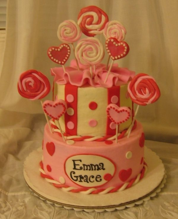 3 Valentine S Birthday Cake Ideas Valentines Day Cakes Cake Cover Childrens Birthday Cakes