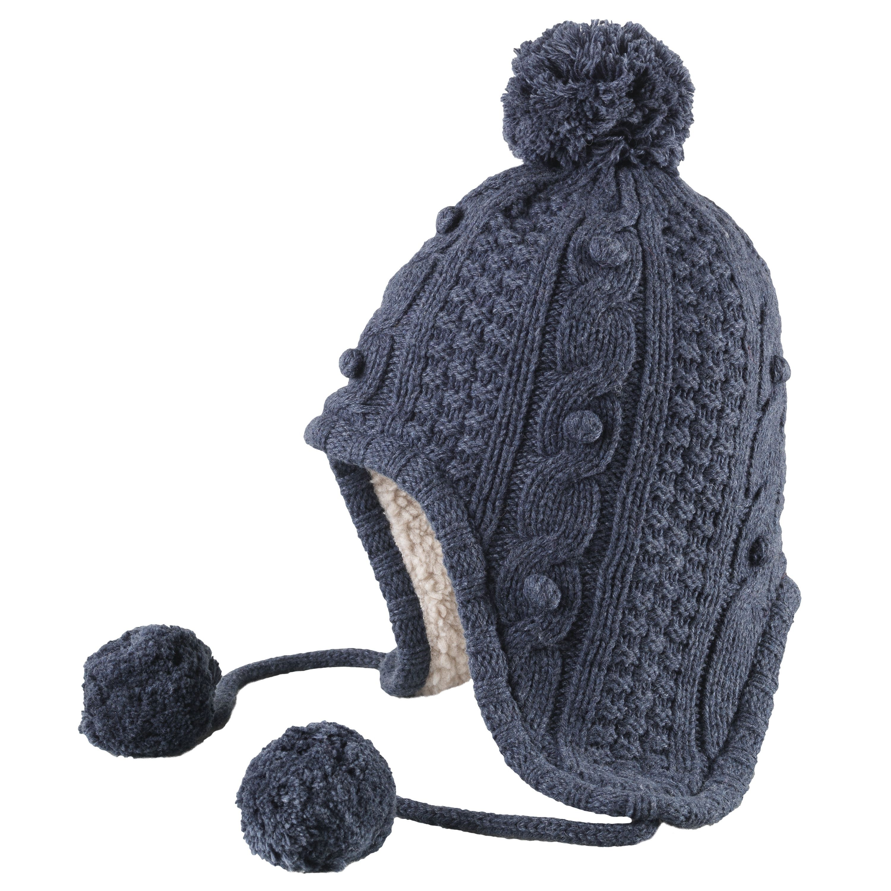 Timberland Knitted Inca Hat - lined with shearling for warmth  winter   fleece 318e5eb868a