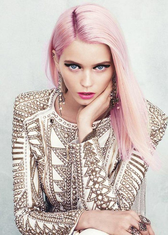 1001 Photos Impressionnantes De Cheveux Rose Fonce Ou Pastel