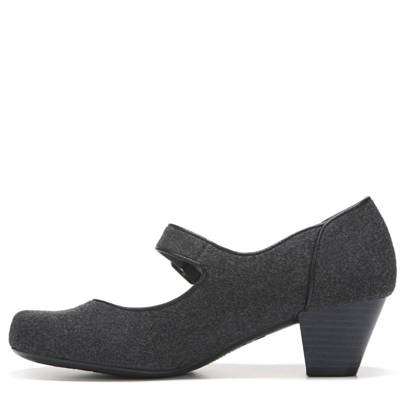 Lifestride Women's Reese Mary Jane Pump Shoes (Grey)