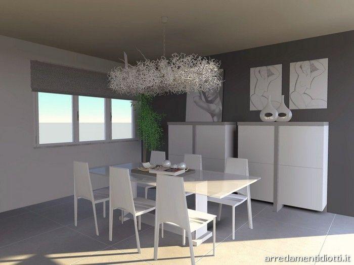Soggiorno moderno con madie design - DIOTTI A&F Arredamenti | Casa ...