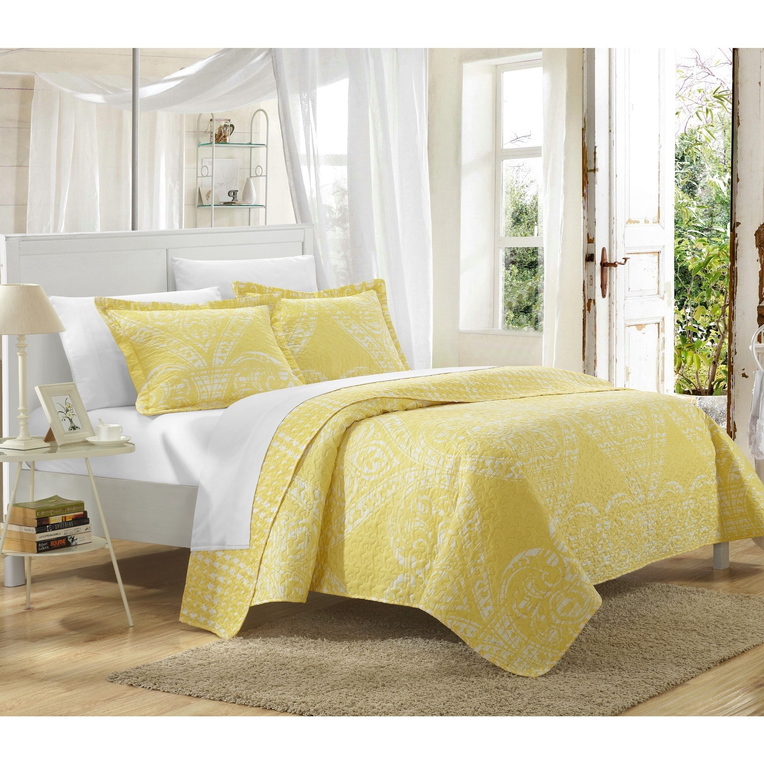 Overstock Com Online Shopping Bedding Furniture Electronics Jewelry Clothing More Quilt Sets Comforter Sets Yellow Bedding