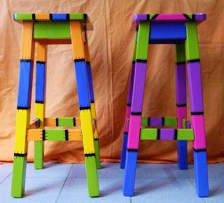 Almas en el viento marcos artesanales para cuadros y - Muebles de madera pintados a mano ...