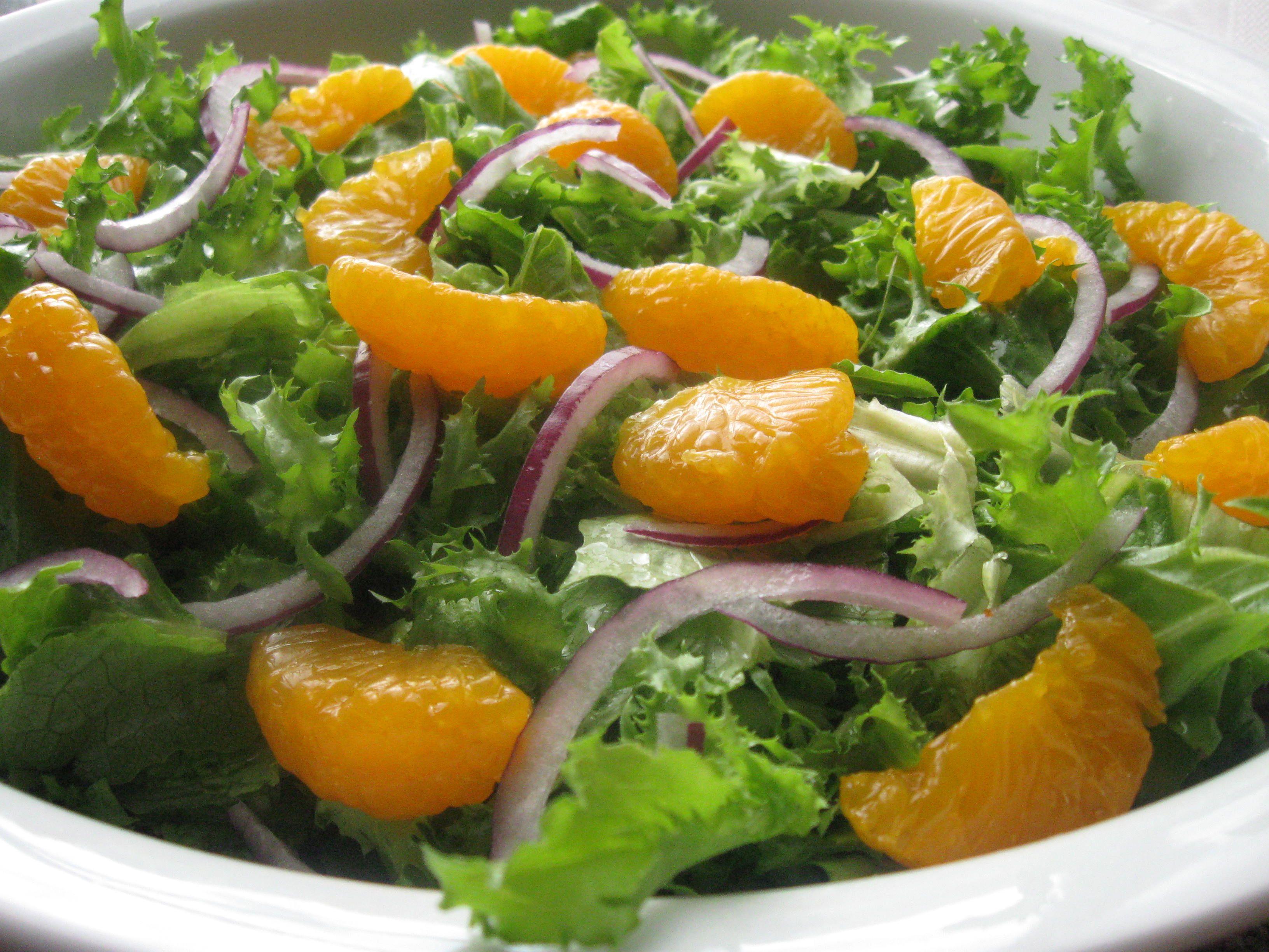 Dr. Rosenblat's Salad: 2 heads romaine lettuce, one red ...