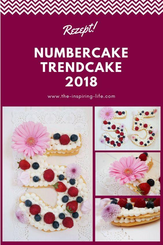 Number Cake - Kuchentrend 2018 - The inspiring life #lettercakegeburtstag