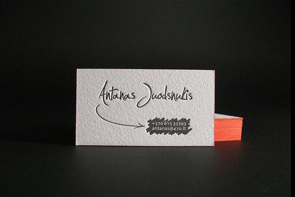 20 minimalistic business card designs for your inspiration - Graphic Design Business Name Ideas