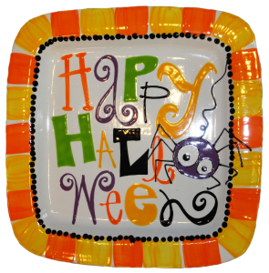 sept12bt - Halloween Pottery Plate  sc 1 st  Pinterest & sept12bt - Halloween Pottery Plate | Halloween | Pinterest | Pottery ...