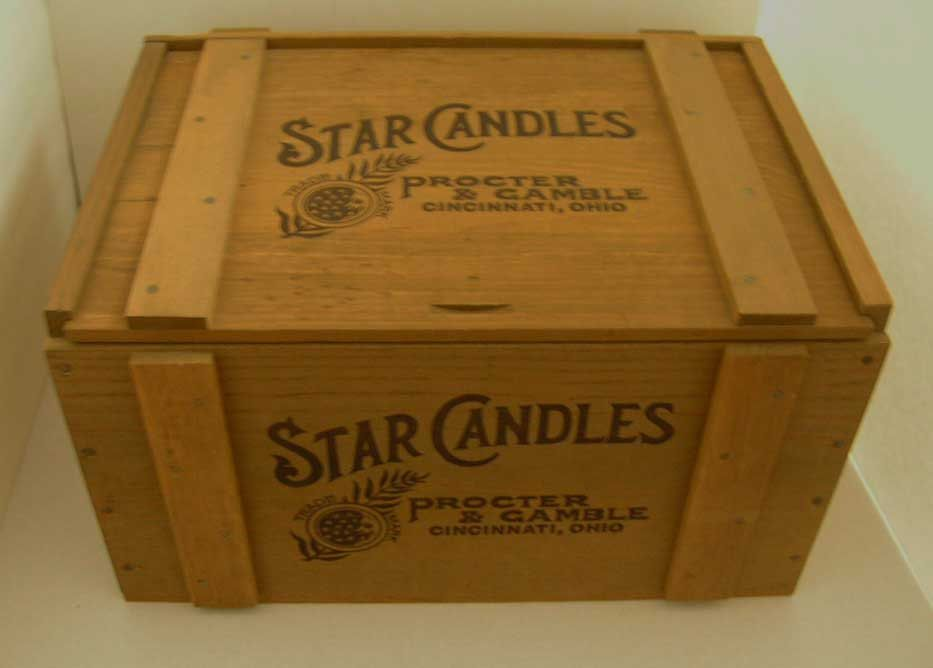 Excellent Vintage Procter And Gamble Star Candles Wood Box Crate With Forskolin Free Trial Chair Design Images Forskolin Free Trialorg