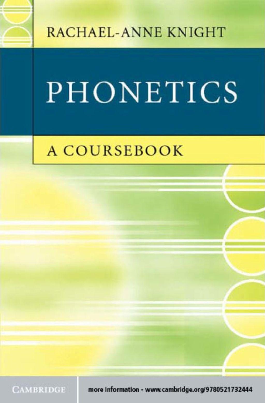 Phonetics Ebook