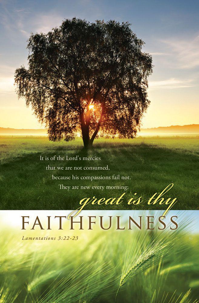 "Church Bulletin 11"" - Inspirational/Praise - Lamentations ..."