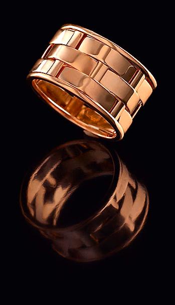 Ralph Lauren woven gold 18k ring Ring Pinterest Ring Gold and