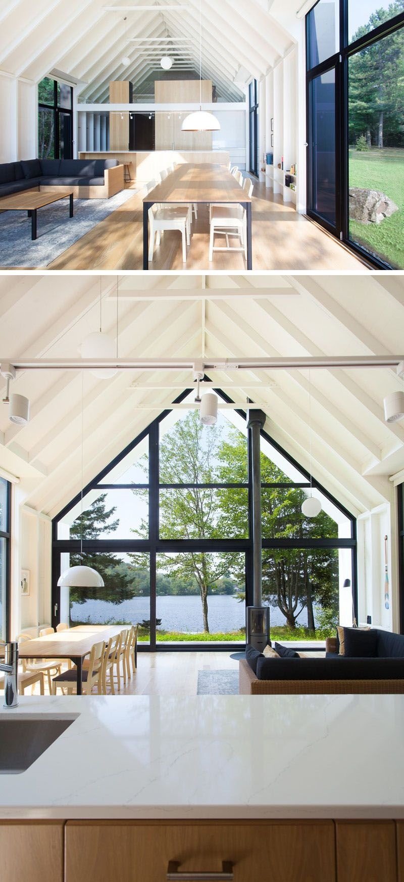 Modern look at the installation and design of small windows