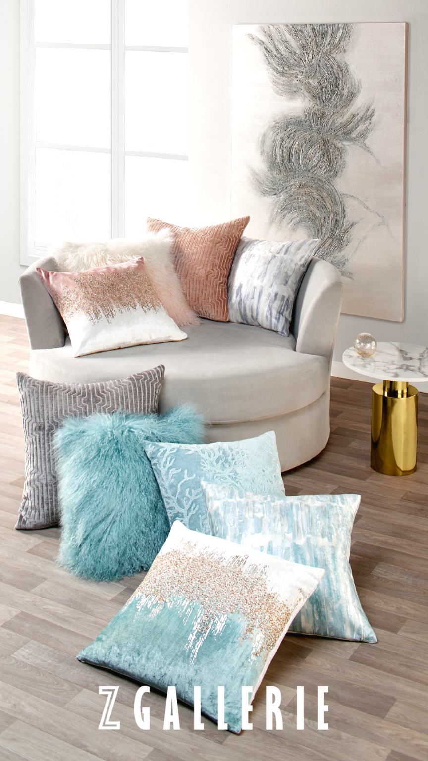 Pillows That Pop At Z Gallerie We Offer Dozens Of Pillow Styles