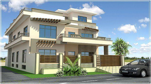 Front Elevation Parapet Wall : Parapet wall designs google search house elevation