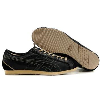 asics onitsuka tiger olympos shoes black  casual shoes
