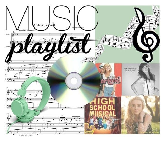 """""""Music Playlist"""" by mooerdoo ❤ liked on Polyvore featuring Urbanears, women's clothing, women, female, woman, misses, juniors, ChristinaPerri, highschoolmusical and musicplaylist"""