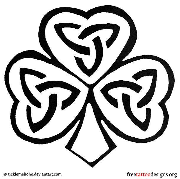 77 Irish Tattoos | Shamrock, Clover, Cross, Claddagh Tattoo Designs ...