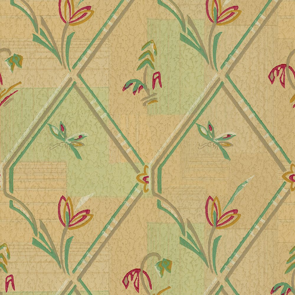 Vintage 1930s Wallpapers Bradbury Bradbury Vintage Wallpaper Patterns Vintage Wallpaper Pattern Wallpaper