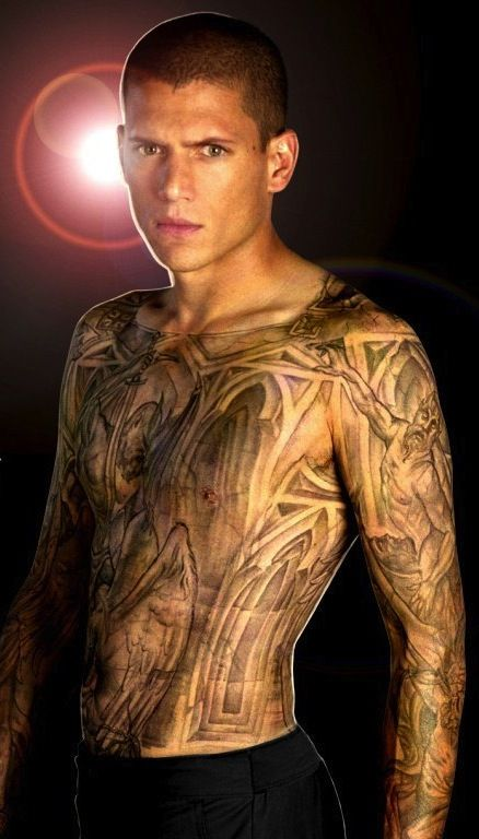 michael scofield tattoo