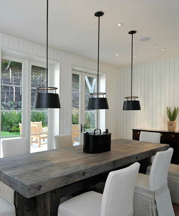 Lighting Over Kitchen Table Best Dining Ideas On Light: Kitchen Inspiration: Cone Pendant Lighting