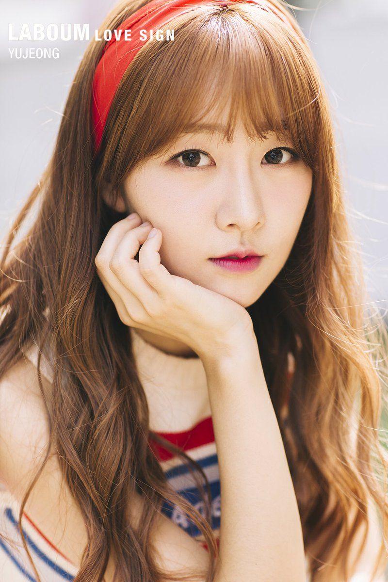 Laboum Lovesign Photo Teaser Yujeong Open Kpop Girl Groups Korean Idol Teaser