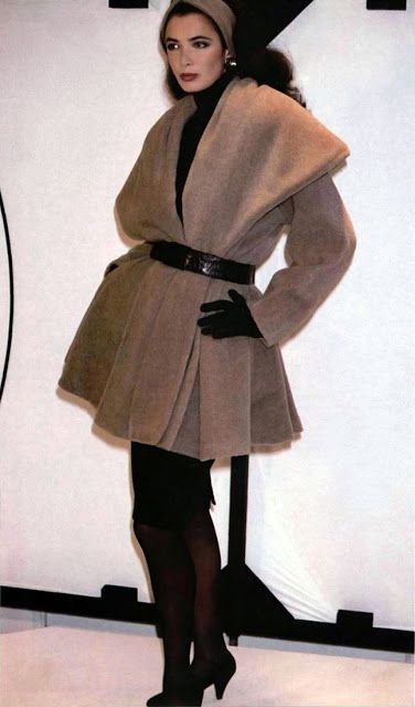 Linda Spierings in the Donna Karan A/W 1986 show.