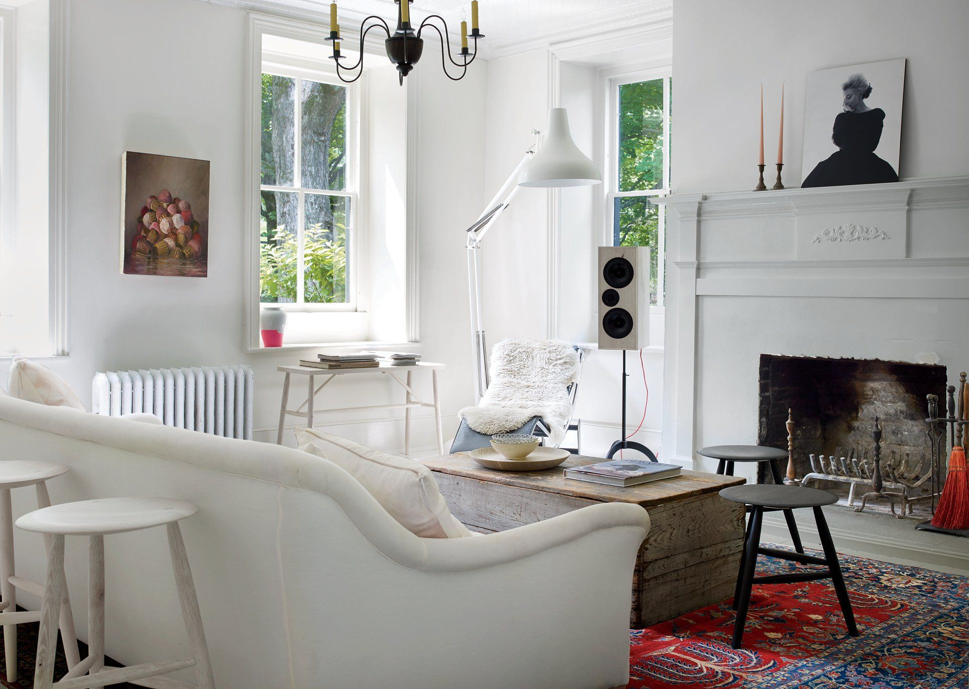 Inside Ryan Roche\'s Home in Hurley, New York | Living rooms, Room ...