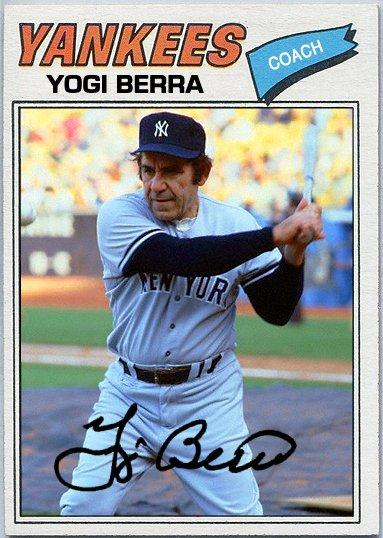 Gio Wthballs Blog On Twitter Yogi Berra Yogi Cards