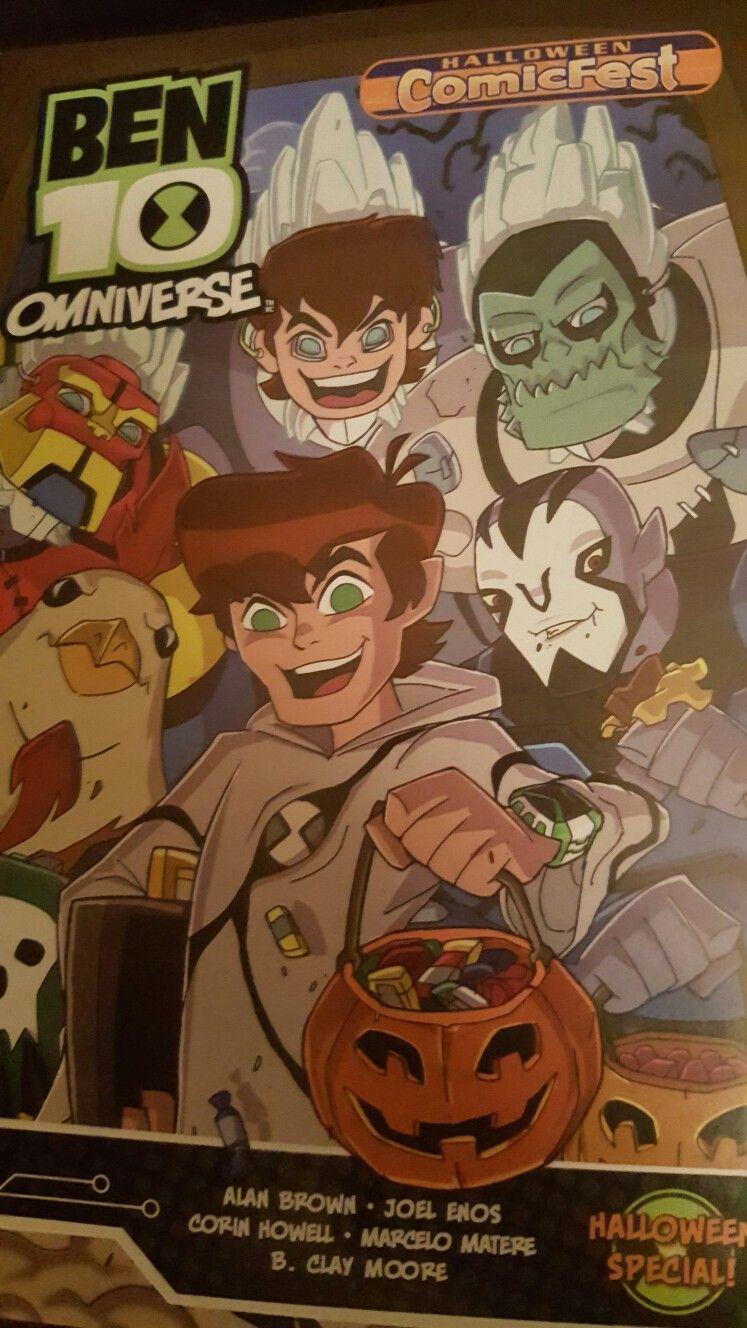 """Ben 10 Omniverse """"Halloween Special"""", Cartoon Network"""