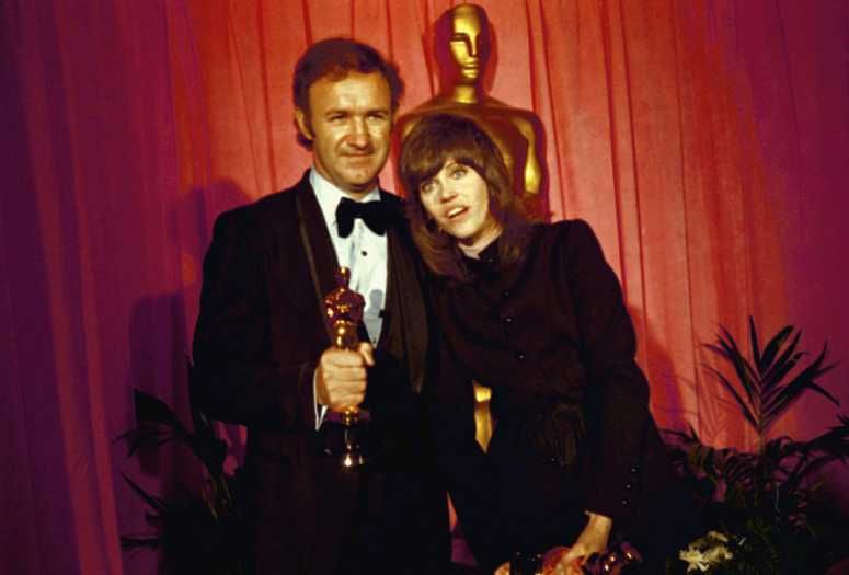 """1972 Oscars: Gene Hackman, Best Actor 1971 for """"The French Connection"""" &"""