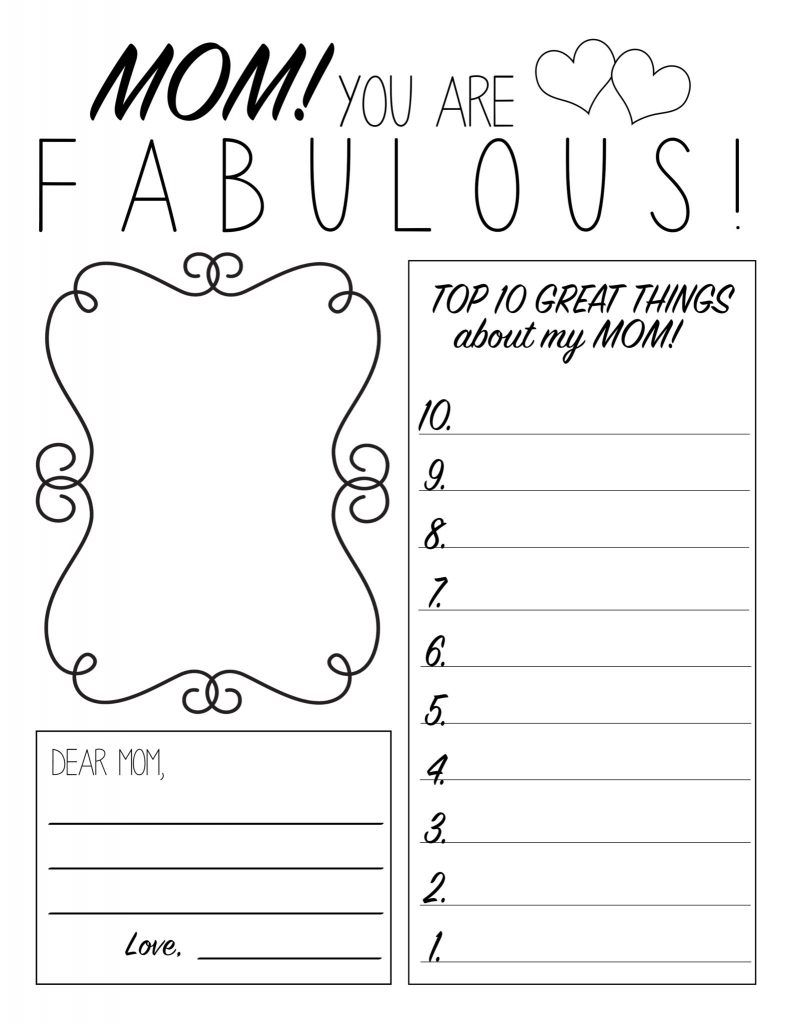 Free Printables At All Things Thrifty Mothers Day Coloring Pages Mother S Day Colors Mother S Day Printables [ 1024 x 792 Pixel ]
