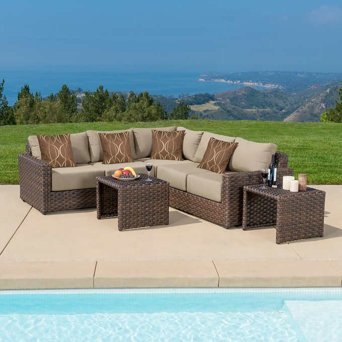 Garden Decor Newcastle: Newcastle 5-piece Modular Seating Set
