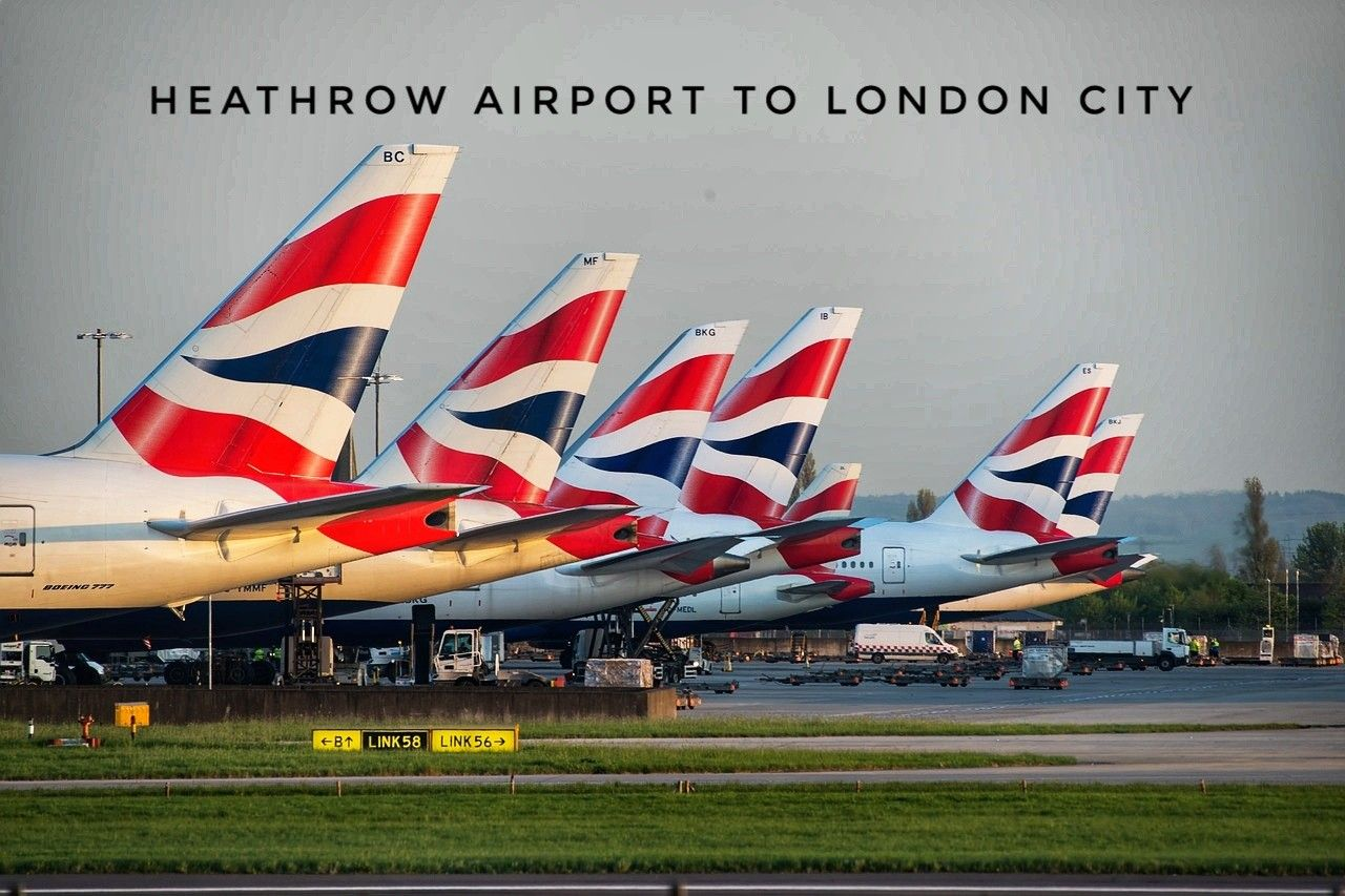 London city to Heathrow airport transfers. Cheapest