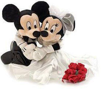 Mickey Mouse And Minnie Wedding I15jpg cakepins.com | Wedding ...