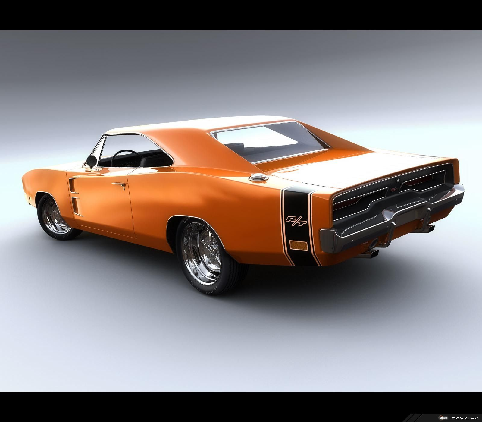 Vehicles  1969 Dodge Charger Rt  Classic  Pc Wallpaper
