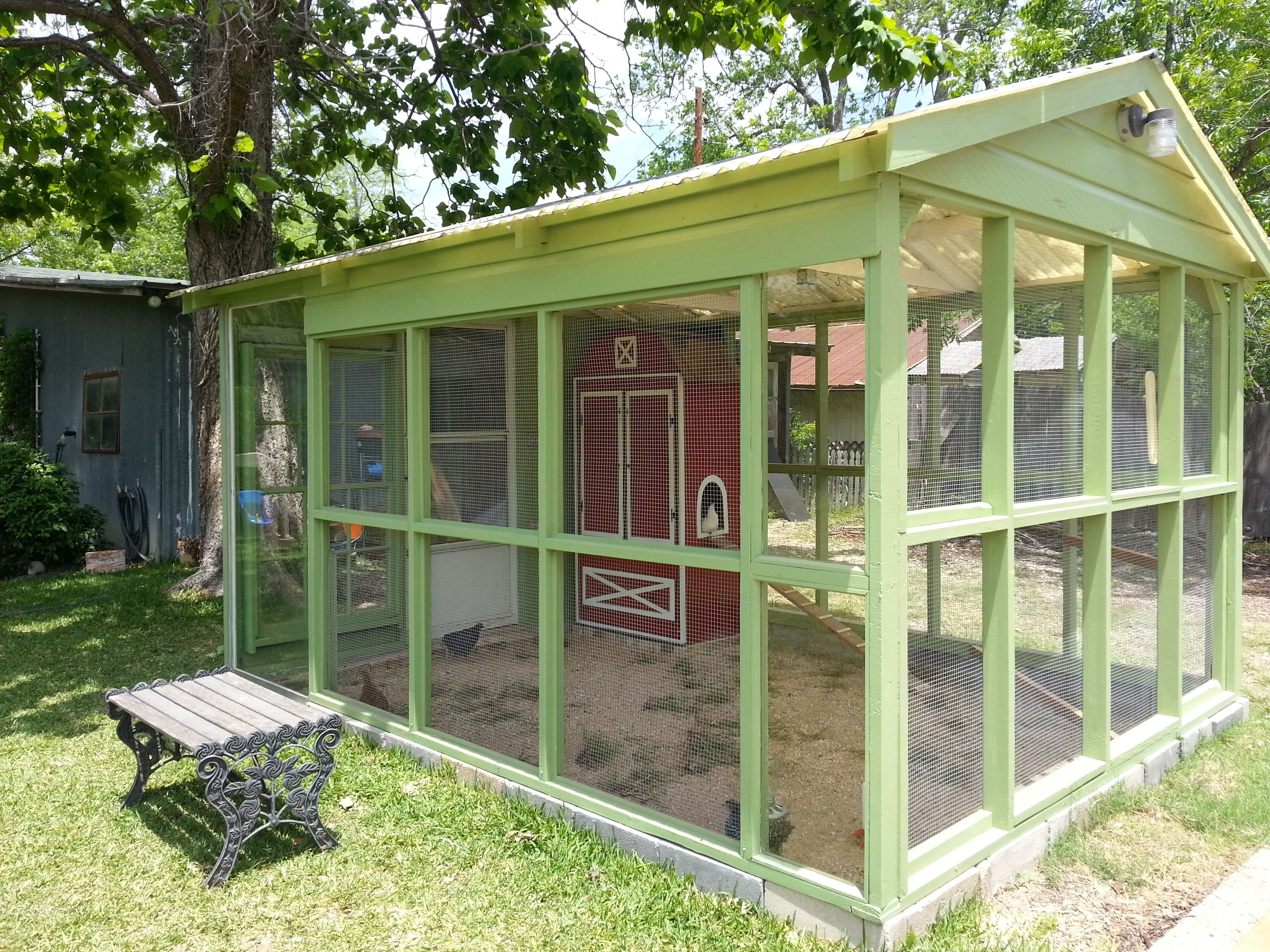 greenhouse shed/ chicken coop?   Greenhouse shed ...  Diy Chicken Coop Greenhouse